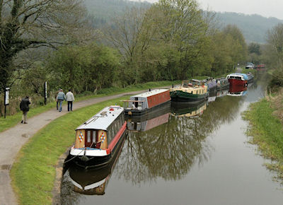Western end of the Kennet & Avon Canal, a non-compliance hot-spot.