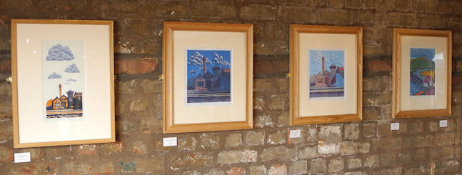 Canal Linocuts exhibition at the National Waterways Museum