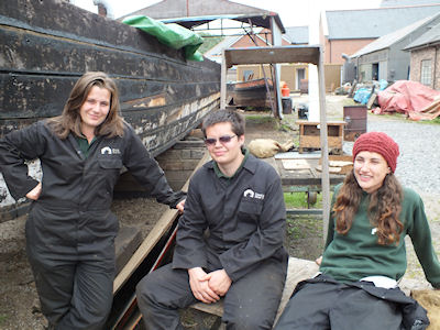 National Waterways Museum trainees
