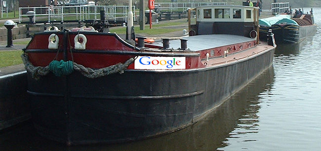 Priobably not the Google barge