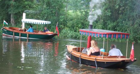 Steamboats at Welshpool