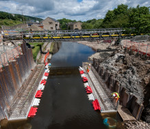 Elland Bridge rebuilding