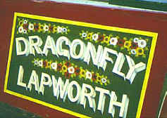 Narrowboat Dragonfly