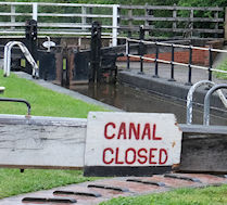 canal reopening