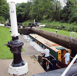 Broad locks with hydraulic lock gear at Hatton (G.U)