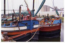 Yorkshire canal boats and Humber Keels