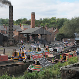 Black Country Museum Boat Gathering