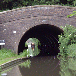 Newbold Tunnel on the North Oxford Canal